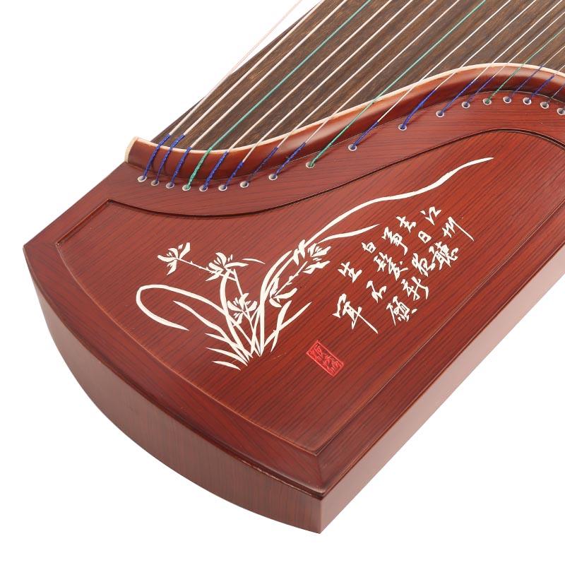 艺雅古筝-红木刻字