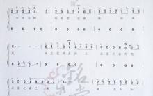 《北国之春》|古筝流行曲曲谱大全