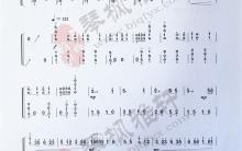 《钢水奔流》|古筝考级曲谱(十级)