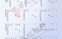 《东海渔歌》|古筝考级曲谱(九级)