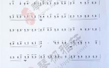 《四合如意》|古筝考级曲谱(九级)
