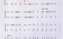 《黎族舞曲》|古筝考级曲谱(七级)