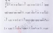 《花流水》|古筝考级曲谱(六级)