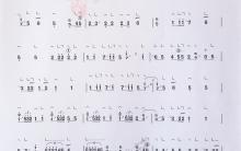 《汉宫秋月》|古筝考级曲谱(七级)